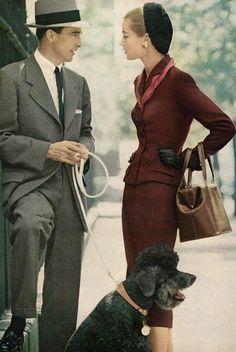 Jean Patchett.  Vogue, 1952.