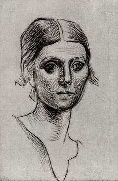 Pablo Picasso: Olga Picasso, 1920 - Home Picasso Prints, Pablo Picasso Drawings, Kunst Picasso, Picasso Art, Picasso Sketches, Henri Matisse, Henri Rousseau, Georges Braque, Paul Gauguin