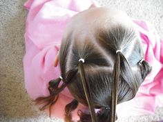 An Easter Dress And Fancy Easter Hair !   Hairstyles For Girls - Princess Hairstyles