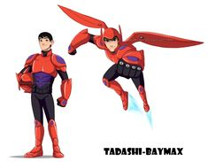 Tadashi's armor by Milady666 on DeviantArt - yep, I'm convinced that if Tadashi had been on the team, he would've had Baymax's armor.