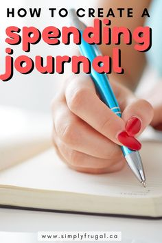 How to create and keep a spending journal to help control your finances. Frugal Living Tips, Frugal Tips, Best Money Saving Tips, Saving Money, Grocery Savings Tips, Applied Psychology, Saving Ideas, Budgeting, Finance