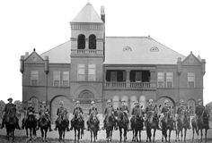 Saint Louis Mounted Police   Station and Stable  Circa 1902  St Louis, MO