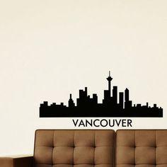 vancouver city skyline silhouette - Google Search