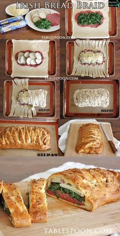 Bread Braid Irish Bread Braid - Food Recipes That looks good, if you ask me. Bread Braid - Food Recipes That looks good, if you ask me. I Love Food, Good Food, Yummy Food, Irish Bread, Great Recipes, Favorite Recipes, Braided Bread, Irish Recipes, Irish Desserts