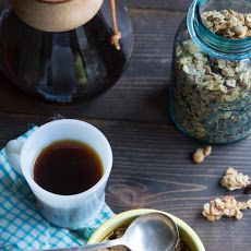 Cherry and Hazelnut Granola with Clusters