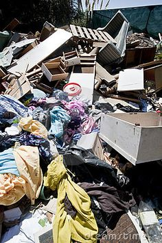 Heapes Of Household Refuse - Download From Over 25 Million High Quality Stock Photos, Images, Vectors. Sign up for FREE today. Image: 18031643