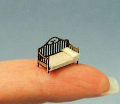 1/144ème inch échelle miniature-banquette-lit par sdkminiatures