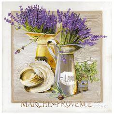 Marche Provence Lavande Posters van Lizie - bij AllPosters.be