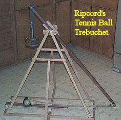 DIY - Trebuchet - a type of catapult