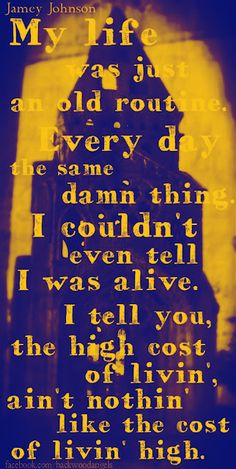 """High Cost of Living"" ~ Jamey Johnson"
