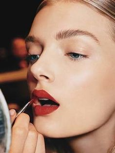 There are some things I never thought I'd have—Kate Moss's body, Blake Lively's hair, Gwen Stefani's red lips. Yeah, the first two are pretty much pipe dreams. But the red lips? Sure, they're within the...
