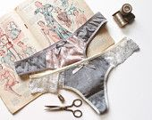 Lingerie Thong Panties Sewing Pattern Ohh Lulu 1308 Gia Thong PDF Instant Download