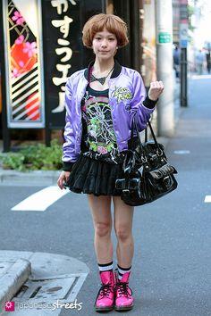 Harajuku, Tokyo, kakimoto arms, H&M, Lip Service, galaxxxy, Dr.Martens, DoCoMo, RNA