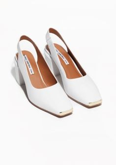 & Other Stories | Square Toe Pumps