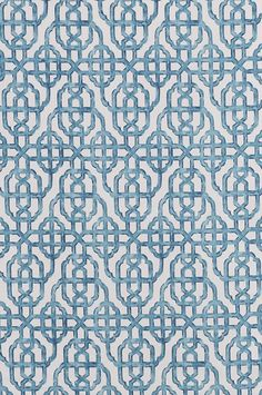 Imperial - Seaside textile pattern by Lacefield Designs,  $40 per yard #chinoiserie #watercoloreffect www.lacefielddesigns.com