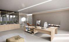 Havicmeubelen-kantoor.nl - Jork manager bureau met lage aanbouwtafel - Bureaus - Werkplekken