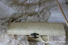 Beautiful vintage Woman's handkerchief box.