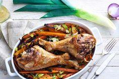 Odwiedź Kuchnię Lidla i poznaj przepis na doskonałe, soczyste podudzia indyka z pieczoną marchewką! Oto pomysł na pyszny obiad!