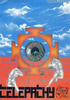Telepathy 1991 #raveflyers uploaded to #phatmedia classic #Pez design