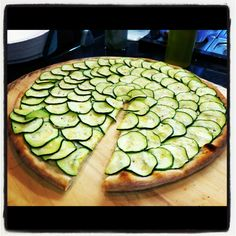 Zucchini Tart With Lemon Thyme And Goat Cheese Recipes — Dishmaps
