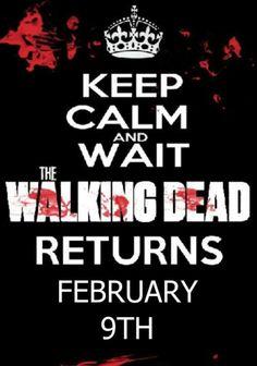 Walking Dead returns Feb 9th.