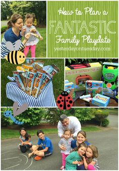 Tips on planning a Fantastic Family Playdate, a super fun summertime activity. Plus a chance to win a Playdate Kit valued at $100. #ad