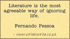 Quotable - Fernando Pessoa - Writers Write Creative Blog