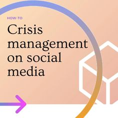 3 tips to manage a crisis on social media Design Social, Social Media Page Design, Management, Chart, Tips, Instagram, Counseling