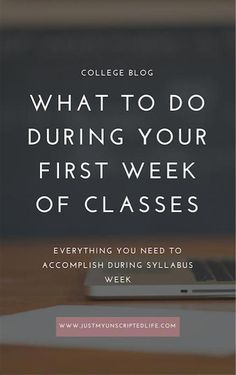 What to do during your first week back to a new semester of college classes. Make sure you're doing the necessary steps to get on the right foot during syllabus week with this guide. Get organized, involved with school activities, and more! College Freshman Tips, College Semester, College Planner, College Classes, College Fun, Education College, College Hacks, College Activities, Science Education