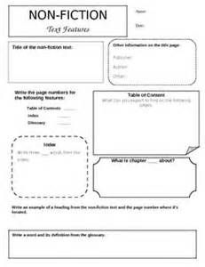 Nonfiction Text Features Matching Worksheet - Saferbrowser Yahoo ...