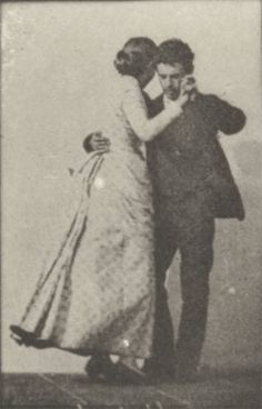 Man and woman dancing a waltz Animation based on Eadweard Muybridge motion studies. Shall We Dance, Lets Dance, Tango, Eadweard Muybridge, Happy Dance, Ballet, Vintage Photography, Dark Photography, Vintage Pictures