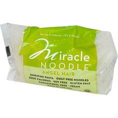 Miracle Noodle, Angel Hair, Shirataki Pasta, 7 oz (198 g)