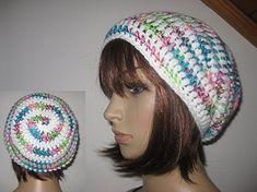 Mütze im Spiral-Design, Beanie, Häkelmütze im Boshi Style