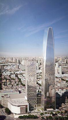 Tianjin Modern City Office Tower - The Skyscraper Center