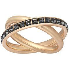 Swarovski Dynamic Ring ($99) ❤ liked on Polyvore