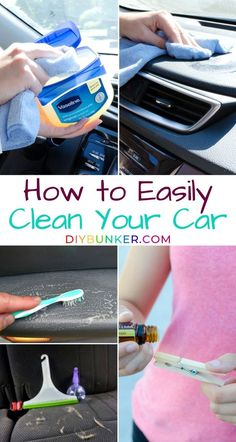 12 DIY Car Detailing Tips and Tricks That'll Make it Like New - This great guide will teach your how to clean your car interior on a budget! Car Cleaning Hacks, Deep Cleaning Tips, Car Hacks, House Cleaning Tips, Diy Cleaning Products, Cleaning Solutions, Spring Cleaning, Car Interior Cleaning, Diy Interior Car Cleaner
