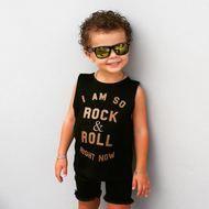 Little Lords Rock & Roll Muscle Tee