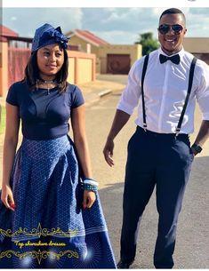 Elegance Shweshwe styles Shweshwe aloof seems to bigger characterize our moods every time, so African Traditional Wedding, Traditional Dresses, African Men Fashion, African Fashion Dresses, Shweshwe Dresses, Ankara Jackets, Fashion Days, Fashion Fashion, Fashion Women