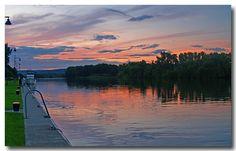Mohawk River Sunset - Schenectady, New York