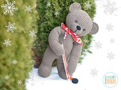 John the Canadian Bear was inspired by Canada's 150 anniversary in 2017 and is named after our first prime minister Sir John A. Macdonald. I created him so we could celebrate Canada's birthday together. I hope you will enjoy this pattern.