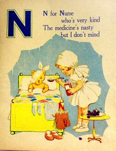 N is for Nurse  ABC Book