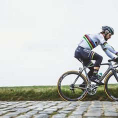Peter Sagan speeding to his first classics win of 2017 at Kuurne Brussel Kuurne @brakethrough_media