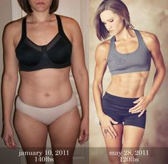 4 months of hard work...This woman is amazing! Inspiration!