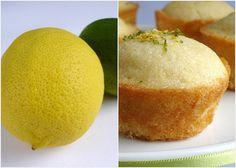Mini citrus syrup sponges