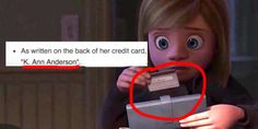 Riley's mom from <i>Inside Out</i> committed credit card fraud, which is why Riley's family had to move so quickly.