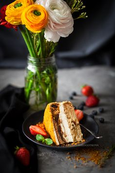 Date Tiramisu Cake