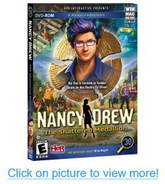 Nancy Drew: The Shattered Medallion - No One is Immune to Sudden Death on this Reality TV Show! Nancy Drew 2007, Nancy Drew Games, Nancy Drew Books, Nintendo Ds, Wii U, Nancy Drew Her Interactive, Star Trek, Whiskey Lullaby, As Nancy
