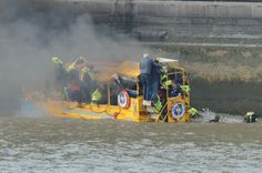 30 people rescued from River Thames after Duck Tours boat catches fire - http://www.warhistoryonline.com/war-articles/30-people-rescued-river-thames-duck-tours-boat-catches-fire.html