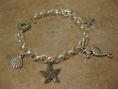 gift for mom friendship charm bracelet by NovelaNoveltyNotions, $78.95