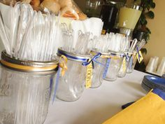 High School Graduation Party Favors | And, of course, the food was fabulous with pops of color brought in ...